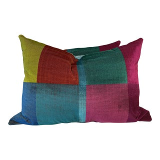 "Designer's Guild ""Sarang Fuschia"" 18""x24"" Pillows-A Pair For Sale"