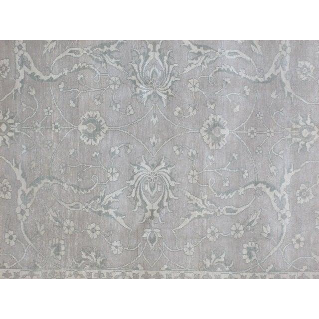 Persian Leon Banilivi Genuine Agra Carpet - 6' X 8'10 For Sale - Image 4 of 6