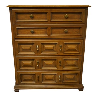 Drexel Heritage Esperanto Collection Spanish Mediterranean Chest of Drawers For Sale