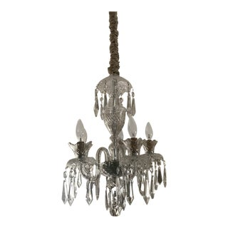 1970s Vintage Waterford Crystal Avoca 5-Arm Chandelier For Sale