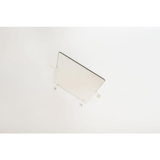 Vintage Lucite Vanity Mirror For Sale - Image 4 of 6