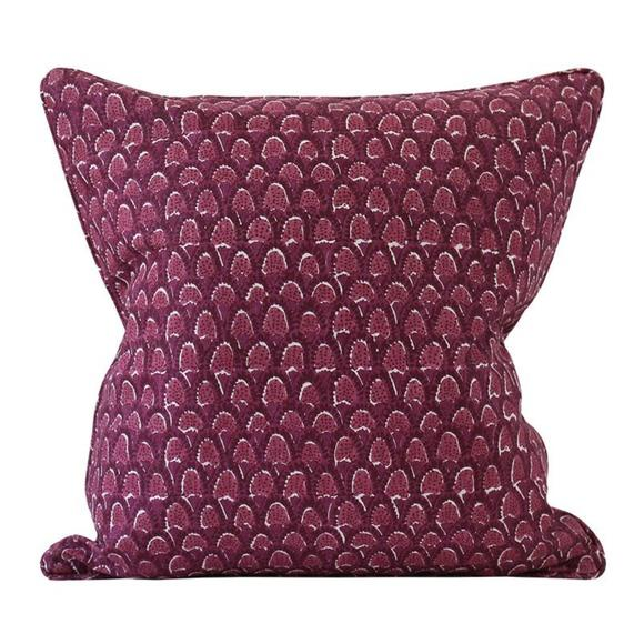 Boho Chic Walter G Pillow Cover - 20 X 20 For Sale - Image 3 of 3