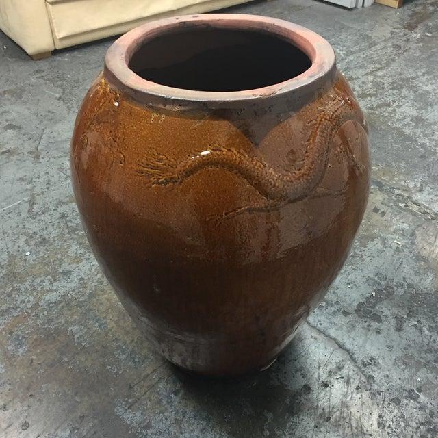 Large Glazed Finish Pottery - Image 5 of 9