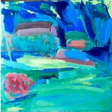 Image of Contemporary Abstract Landscape Painting For Sale