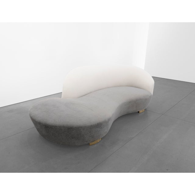 "Mid-Century Modern Vladimir Kagan, ""Cloud"" Sofa C. 1970 - 1979 For Sale - Image 3 of 9"