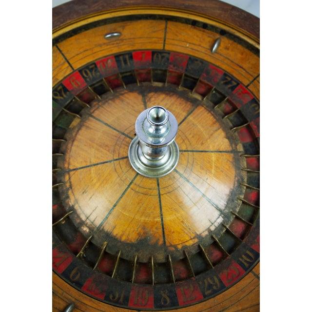 Large Antique Vintage Roulette Wheel - Image 6 of 9