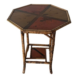 Antique English Octagonal Table For Sale