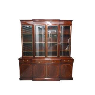 Maddox Breakfront Display Cabinet