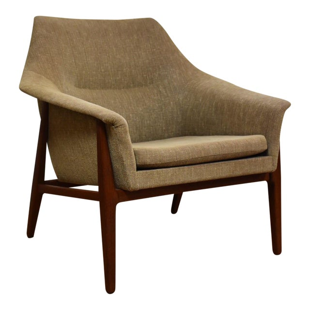 Danish Teak Lounge Chair - Image 1 of 10