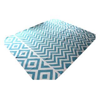 Madeline Weinrib Turquoise Lupe Rug - 8' x 10'