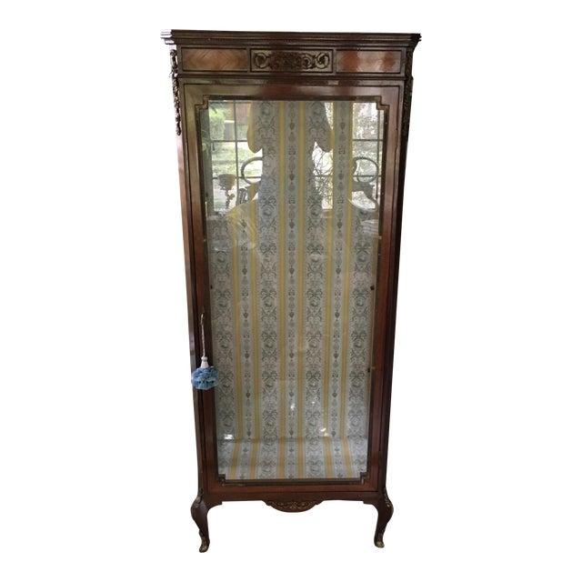 Antique French Curio Display Cabinet - Antique French Curio Display Cabinet Chairish