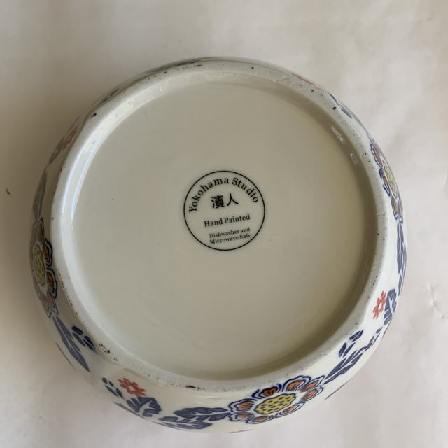Eclectic Patterned Cottage Farmhouse Bowls, Set of Seven For Sale - Image 9 of 11