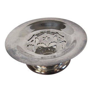 Silverplate Butter Dish For Sale