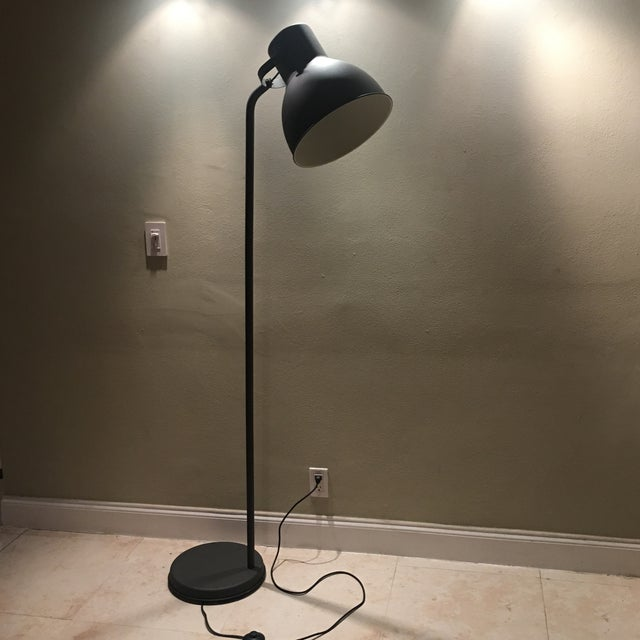 Dark Bronze Industrial Floor Lamp - Image 6 of 6