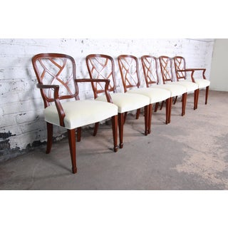 Kindel Furniture Carved Mahogany Formal Dining Chairs, Set of Six Preview