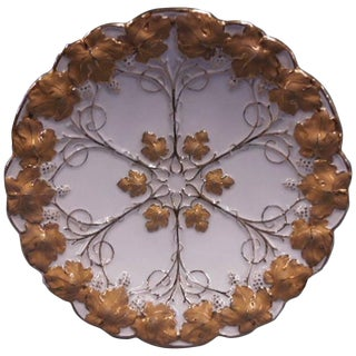19th Century Anglo-Indian Meissen Porcelain Shallow Bowl For Sale