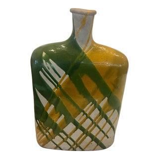 Mid-Century Art Glazed Ceramic Vase