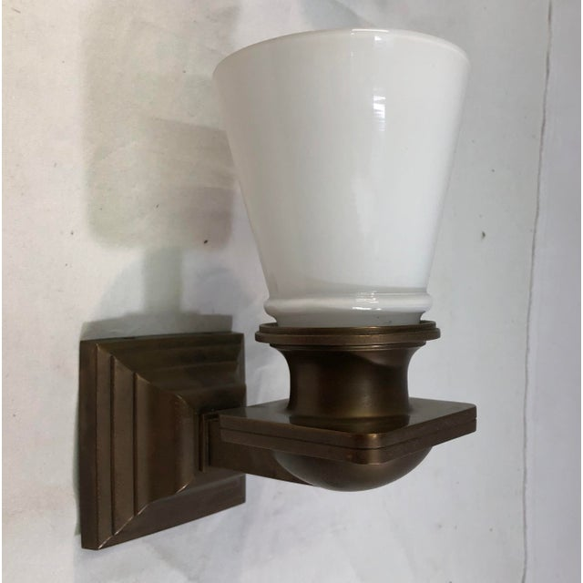Visual Comfort New York Subway Bath Wall Light in Antique Brass For Sale - Image 11 of 11