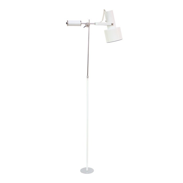 Mid-Century Adjustable Floor Lamp - Image 1 of 11