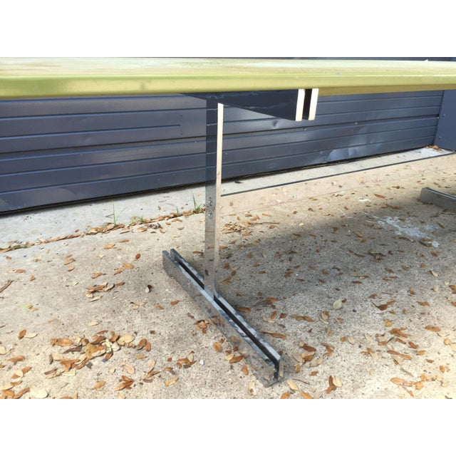 Mid-Century Modern Large Coffee/Console Table Attributed to John Vesey For Sale - Image 3 of 6