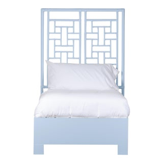 Ohana Bed Twin Extra Long - Blue For Sale