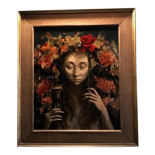 1950s Vintage Jean-Pierre Alaux French Oil Painting For Sale
