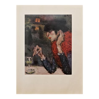 """1950s Picasso """"The Absinthe Drinker"""" Period Lithograph For Sale"""
