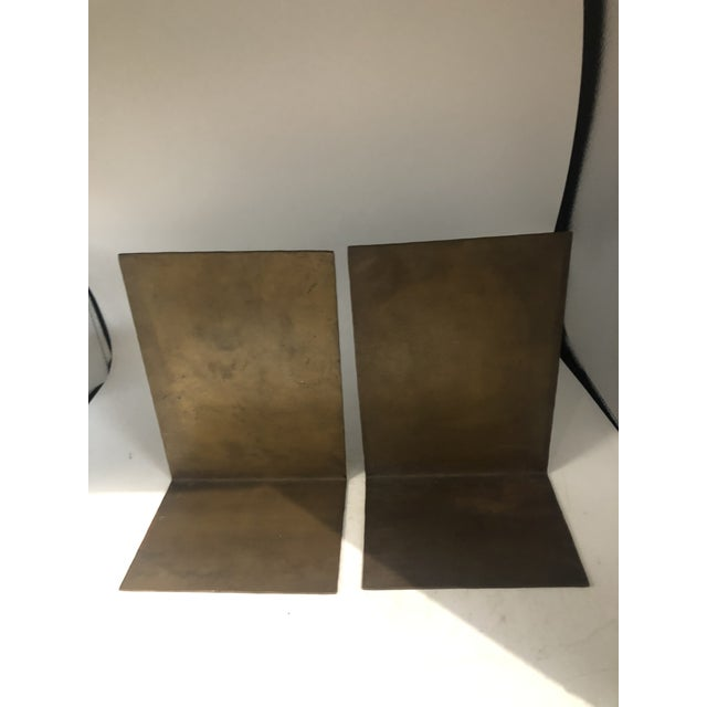 Copper German Modernist Copper Bookends - a Pair For Sale - Image 8 of 10