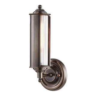 Mark D. Sikes Classic No.1 1 Light Wall Sconce - Distressed Bronze