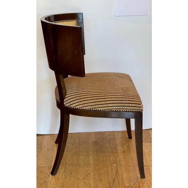 Art Deco Dessin Fournir Kerry Joyce Klismos Chair For Sale - Image 3 of 6