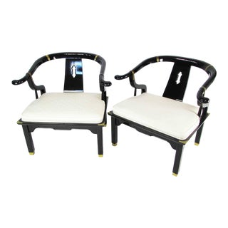 Pair of Ming Style Chairs For Sale