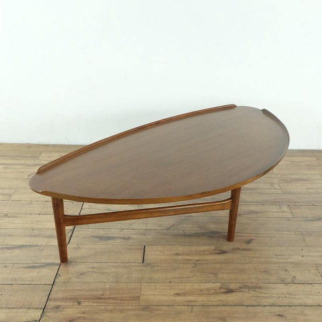 2010s Mid-Century Modern Finn Juhl Teak Coffee Table For Sale - Image 5 of 10