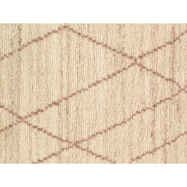 Contemporary Pasargad N Y Moroccan Hand-Knotted Rug - 4′ × 6′ For Sale - Image 3 of 5