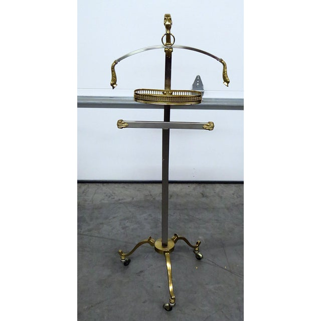 Vintage Mid Century Italian Gentlemans Valet For Sale - Image 9 of 9