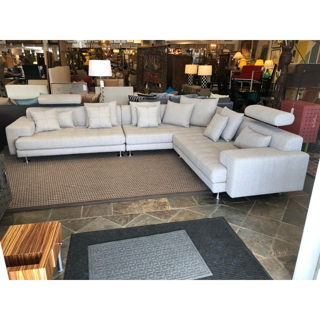 Cepella Left Seated Sectional by Scandinavian Designs For Sale - Image 11 of 11