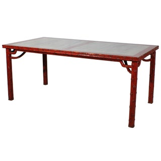 Sarreid LTD Chinese Marble Top Dining Table