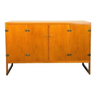 Mahogany Cabinet by Børge Mogensen Model BM 57, Denmark, 1957 For Sale