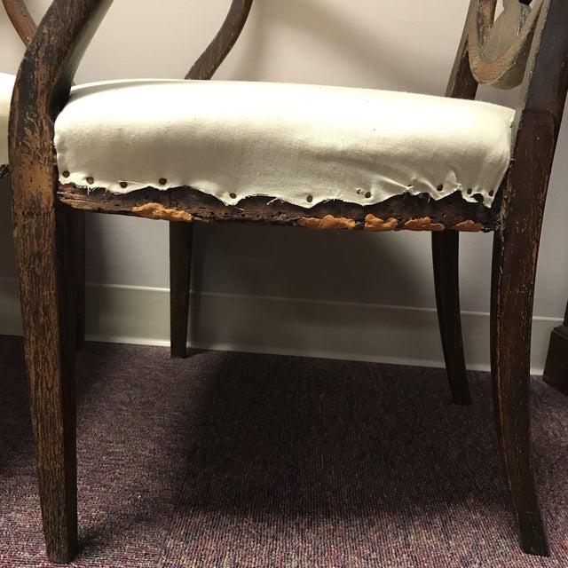 C. 1795 English Hepplewhite Chairs - A Pair - Image 5 of 10