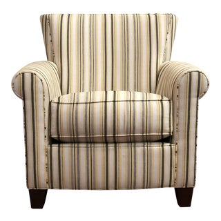 Vintage Thomasville Upholstered Occasional Chair For Sale