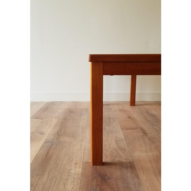 Vejle Stole & Møbelfabrik Teak Coffee Table With Nesting Side Tables - 3 Pieces For Sale - Image 9 of 13