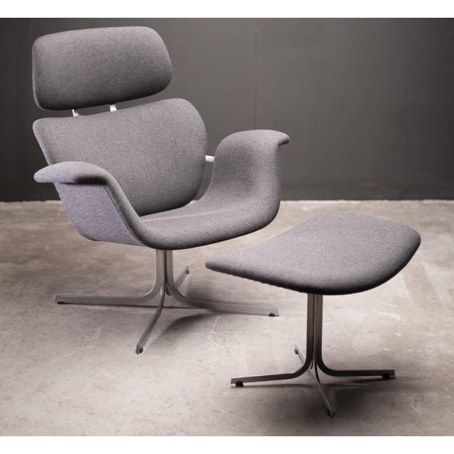 Pierre Paulin F545 Lounge Chair with Matching Footstool for Artifort For Sale - Image 9 of 9