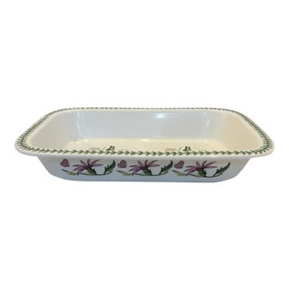 Susan Williams Ellis Large Botanic Garden Deep Rectangular Bowl For Sale