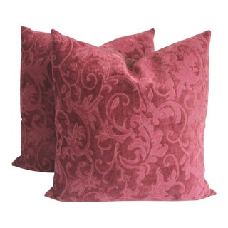Velvet Pillows For Sale
