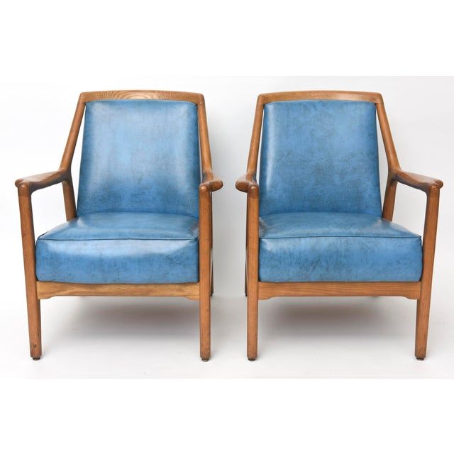Pair of Italian Modern Walnut Armchairs, Carlo de Carli For Sale - Image 11 of 11