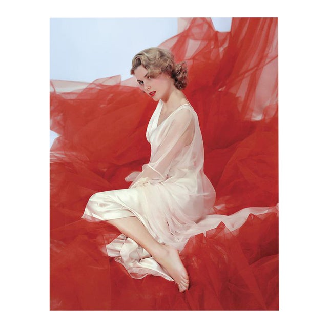 "1954 ""Grace Kelly in Nightgown"" Framed Print For Sale - Image 4 of 4"