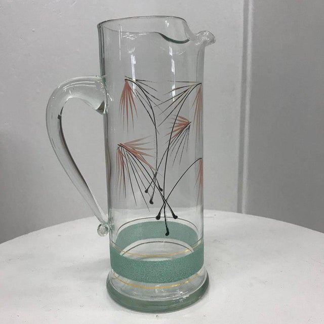 Carl Auböck Mid-Century Modern Set of Six Glasses and Pitcher For Sale - Image 4 of 11