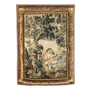 19Th C Aubusson Tapestry For Sale