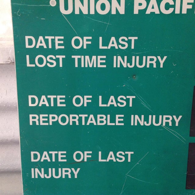 Union Pacific System Shop Sign For Sale In San Francisco - Image 6 of 11