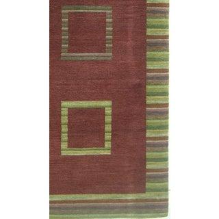 Modern Decorative Woolen Tibetan Handmade Rug- 4′ × 6′ Preview