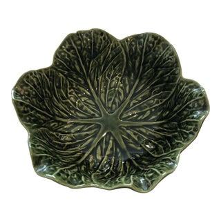 Vintage Majolica Bowl For Sale